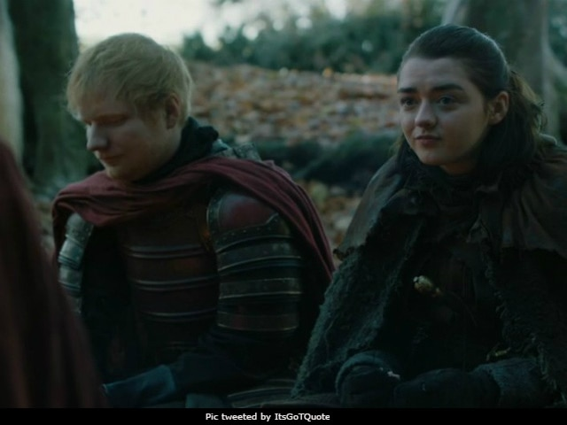 Game Of Thrones Fans Judge Ed Sheeran's Cameo. Their Verdict, As Seen On Twitter