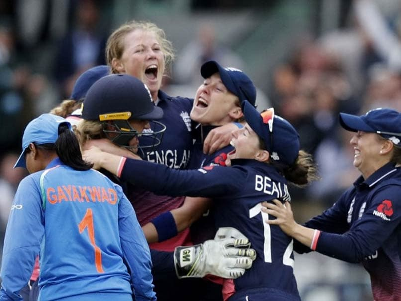 Valiant India Go Down Fighting To England In Women's World Cup Final