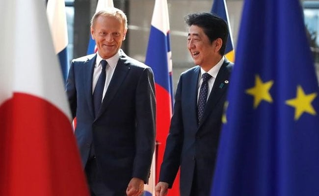 European Union Japan Conclude Political Agreement To Reach Free