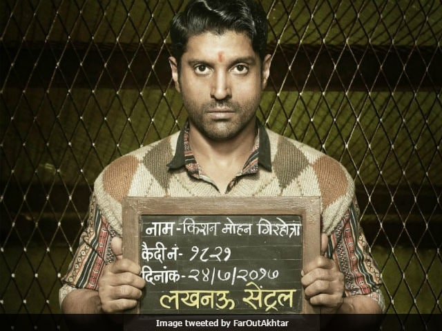Lucknow Central: Farhan Akhtar Shares A Glimpse Of His Character From The Film