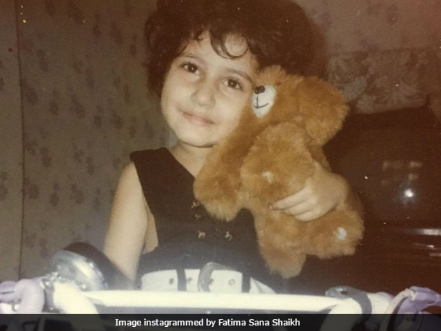 Fatima Sana Shaikh's 'Bachpan' Ka Pic Is The Best Thing About This Throwback Thursday