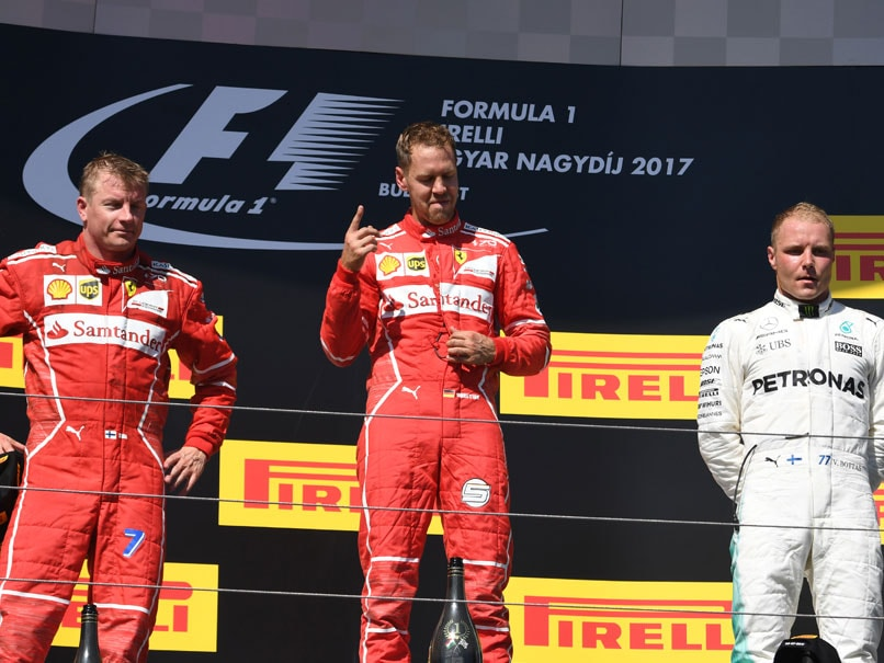 Sebastian Vettel Wins Hungarian GP in Ferrari One-Two