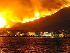 Fires Rage On Adriatic Coast