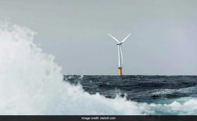 Hywind, World's First Floating Wind Farm, Being Built Off Scotland Coast