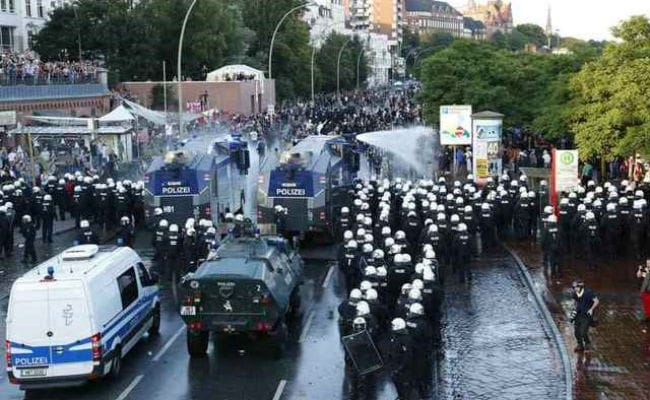 g20 summit protest reuters
