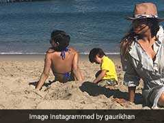 पापा शाहरुख खान कर रहे हैं काम और बेटी सुहाना कुछ ऐसे ले रही है 'सनबाथ'