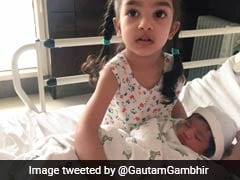 Gautam Gambhir's Daughter's Name Leaves Fans Guessing