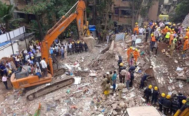 7 Dead, Many Feared Trapped In Mumbai Building Collapse
