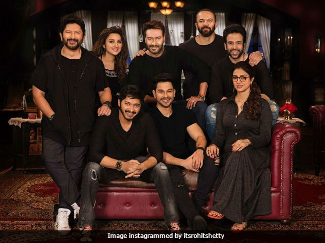 Team Golmaal Again Begins Shooting For Final Schedule Of The Film