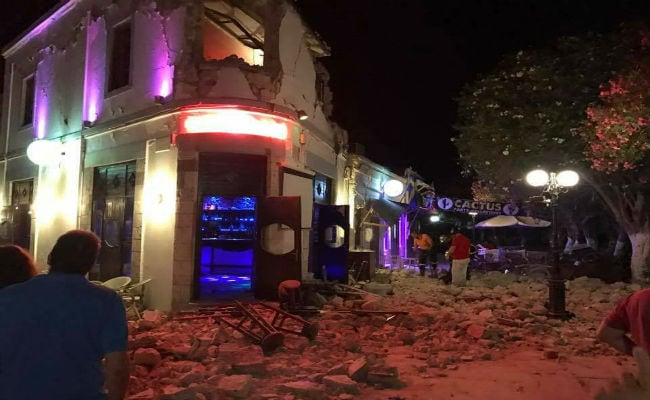 2 Dead, Several Injured On Greece's Kos Island After Earthquake: Report
