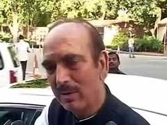 Congress To Contest UP Local Body Polls On Its Own: Ghulam Nabi Azad