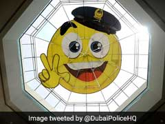 Dubai Police Install Giant Smiley Face On Station Roof In Bid To Promote 'Happy Vibes'