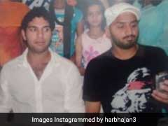 Harbhajan Singh Takes A Dig At Yuvraj Singh With Throwback Photo