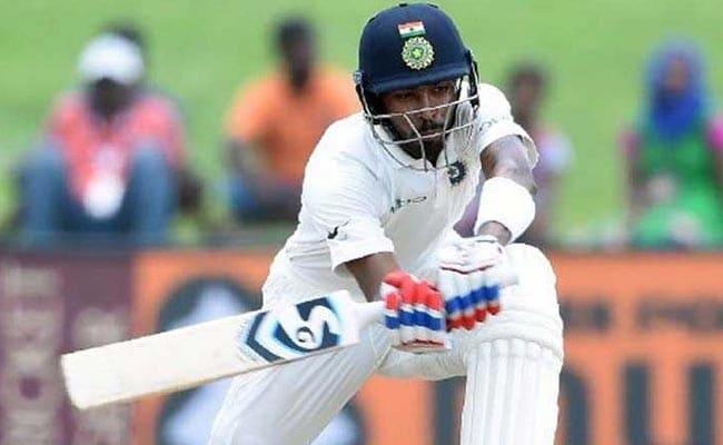 टेस्ट में पहला शतक जड़ने वाले हार्दिक पंड्या बोले - बल्लेबाजी करते समय स्कोरबोर्ड नहीं देखता