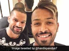 Hardik Pandya, Shikhar Dhawan And Their 'Bromance' Ahead Of Sri Lanka Series