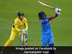 Women's World Cup Semi-final: Harmanpreet Kaur Hits 3rd ODI Hundred Vs Australia