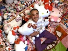 World's Largest Hello Kitty Collection Belongs To A Former Cop In Japan