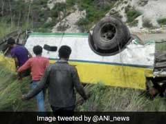 28 Dead As Bus Falls Into Gorge Near Rampur In Himachal Pradesh