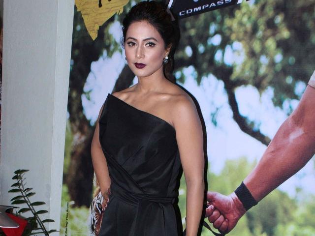 Khatron Ke Khiladi 8 Starts In A Week. Hina Khan Promotes Show In Style