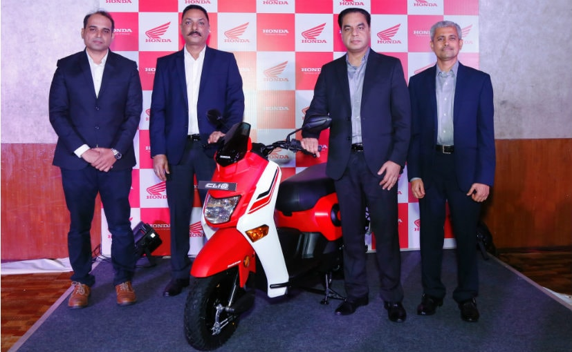 Honda Cliq Launched in Maharashtra At ₹ 43,076