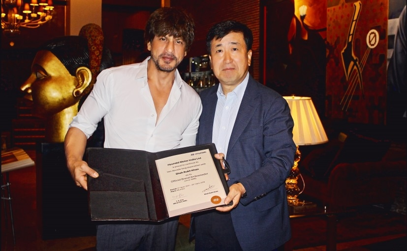 Hyundai Extends Its 19-Years-Long Association With Shah Rukh Khan As The Company's Brand Ambassador