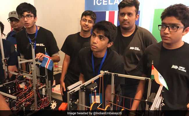 An Indian Team From Mumbai Wins 2 Awards At A Global Robotics Competition