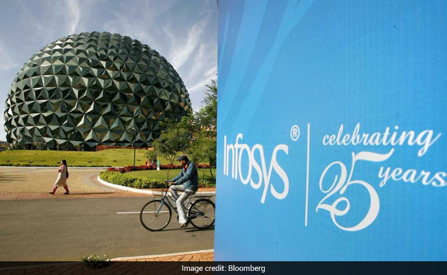 Infosys CEO Arrives For Quarterly Result In Indigenously Built Autonomous Cart