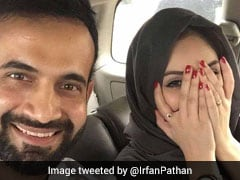 Irfan Pathan, Trolled After Posting Photo With Wife Safa Baig, Says This