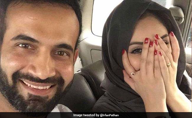 क्रिकेटर इरफान पठान ने बीवी का फोटो सोशल मीडिया पर पोस्ट किया तो हुई खिंचाई