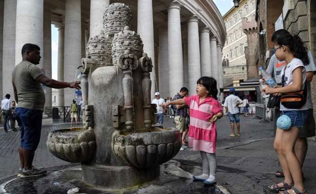 Vatican Switches Off Fountains As Italy Battles Drought
