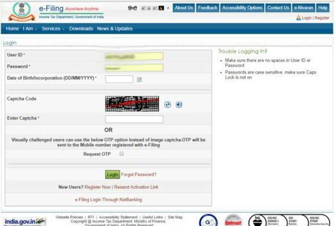itr online gadgets 360