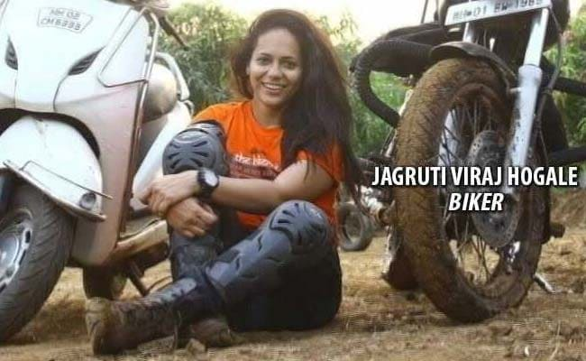 Mumbai Woman Biker Swerves To Avoid Pothole, Run Over By Truck