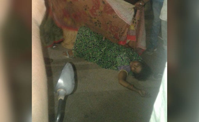 Woman Delivers Outside Jaipur Hospital As Doctors Allegedly Turn Her Away