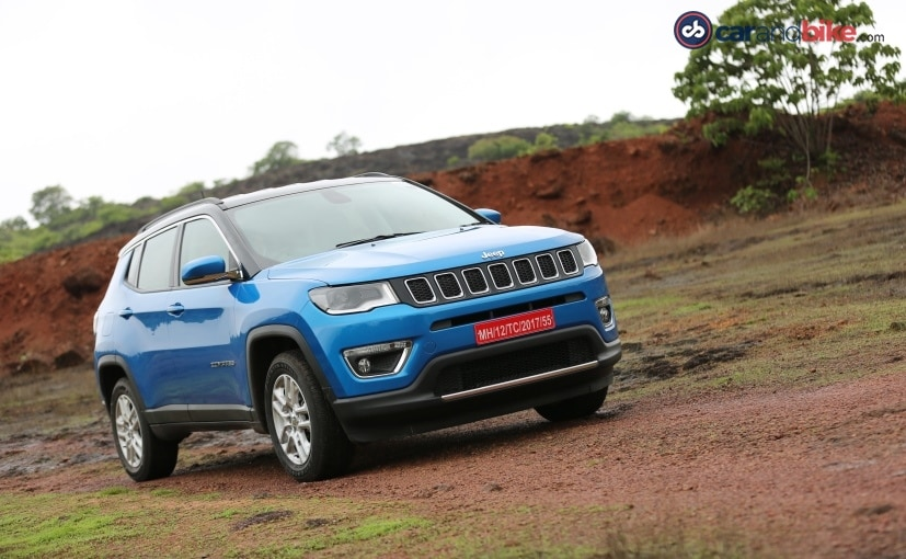 The Jeep Compass is the first SUV from the company to be locally manufactured in India