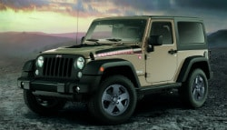 Jeep Launches Limited Edition Wrangler Rubicon Recon Internationally