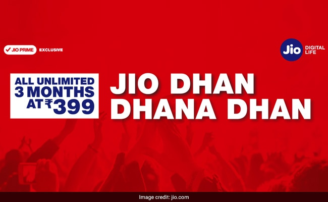 Check Your Jio Validity. New Jio Plans Launched: 84 GB For 84 Days At Rs 399