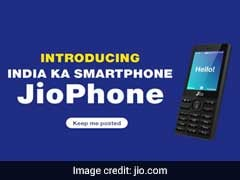 'Free' JioPhone To Arrive Next Month. How To Pre-Book Via SMS, Online
