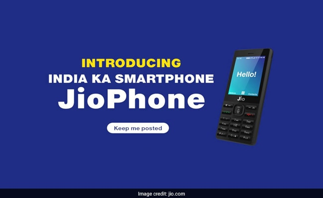 'Free' JioPhone To Arrive Next Month. How To Pre-Book Online, Via SMS
