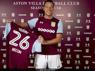 Former Chelsea Icon John Terry Signs For Aston Villa