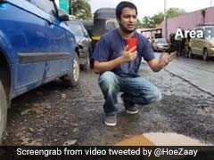 VJ Jose Covaco's Cheeky Take On Mumbai Potholes Has Twitter In Splits