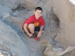 These Boys Thought They'd Found 'A Big, Fat Rotten Cow.' It Was A 1 Million-Year-Old Fossil