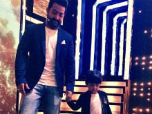 Junior NTR Celebrates Son's Birthday On <i>Bigg Boss</i> Telugu Sets. See Pics