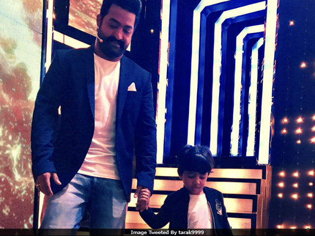 Junior NTR Celebrates Son's Birthday On Bigg Boss Telugu Sets. See Pics