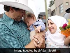 Justin Trudeau Meets Namesake, His Parents Are Syrian Refugees In Canada