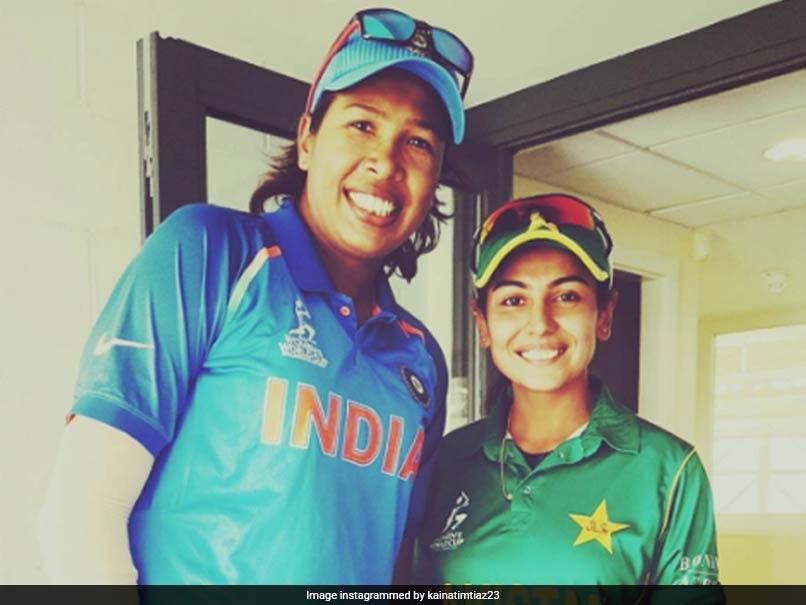 Pakistan's Kainat Imtiaz Meets Her 'Inspiration' Jhulan Goswami, Shares Heartwarming Story