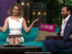 How Can You Compare Race Horses To Artistes: Kangana To Saif Ali Khan