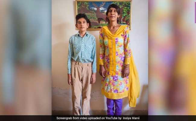 आठ साल का ये लड़का अगर खड़ा हो जाए तो अमिताभ बच्चन लगेंगे 'बौने'