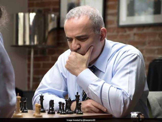 Chess Legend Garry Kasparov Back From Retirement For US Tournament