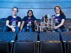 These Girls Have Built Robots Since They Were Toddlers; Now They're Competing On A World Stage