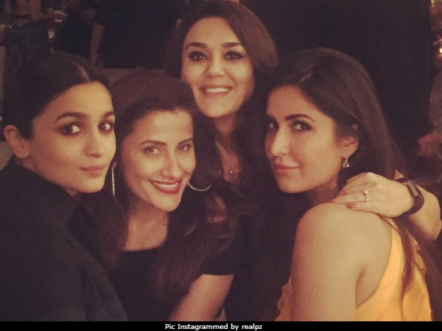 Katrina Kaif Had A Birthday Party With Alia Bhatt And Preity Zinta In New York